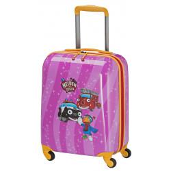 Чемодан детский Travelite HEROES OF THE CITY/Pink TL071687-17