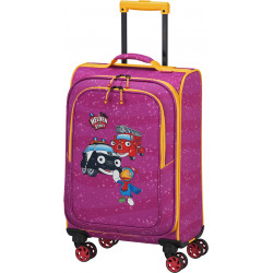 Чемодан детский Travelite HEROES OF THE CITY/Pink TL081688-17