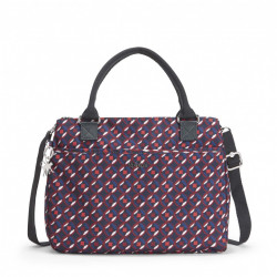 Женская сумка Kipling CARALISA/Red Tile Print K16653_13C