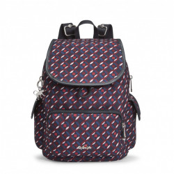 Рюкзак Kipling CITY PACK S/Red Tile Print K00085_13C