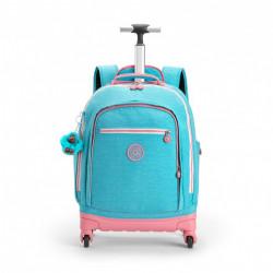 Рюкзак на колесах Kipling ECHO/Bright Aqua C K11648_19T