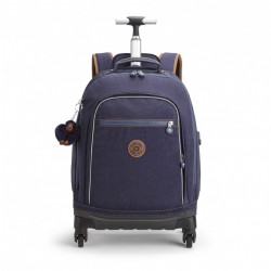 Рюкзак на колесах Kipling ECHO/Blue Tan Block K11648_30G