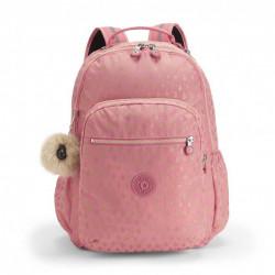 Рюкзак для ноутбука Kipling SEOUL GO/Pink Gold Drop K21316_25T