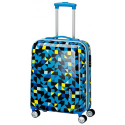 Чемодан Travelite CAMPUS/Quadro Blue TL073747-24