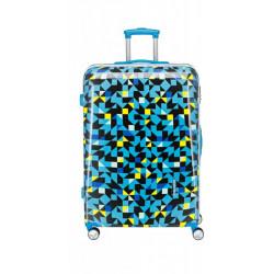 Чемодан Travelite CAMPUS/Quadro Blue TL073748-24