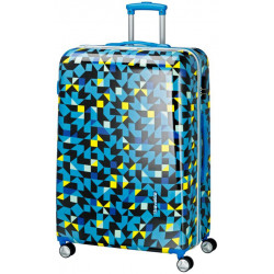 Чемодан Travelite CAMPUS/Quadro Blue TL073749-24