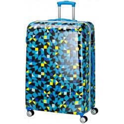 Чемодан Travelite CAMPUS/Quadro Blue TL073749-24