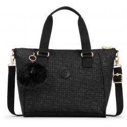 Женская сумка Kipling AMIEL/Black Pylon Emb K16616_47K