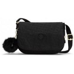 Женская сумка Kipling EARTHBEAT S/Black Pylon Emb KI2503_47K