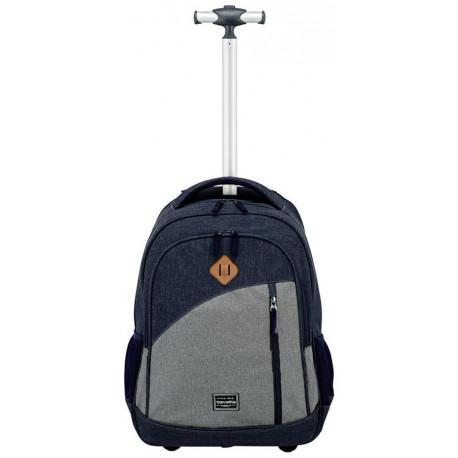 Рюкзак на колесах Travelite BASICSNavy TL096309-20