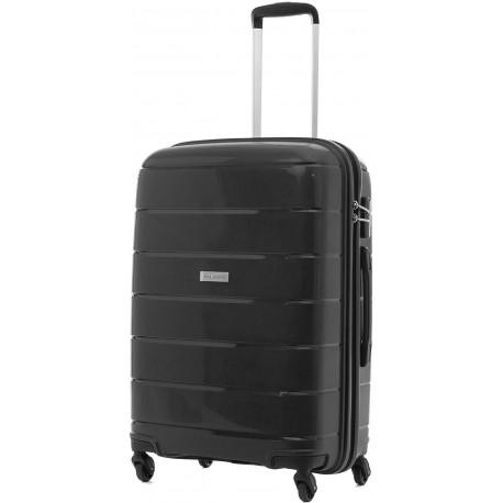 Чемодан на 4 колесах Travelite MAILAND/Black Средний TL573348-01