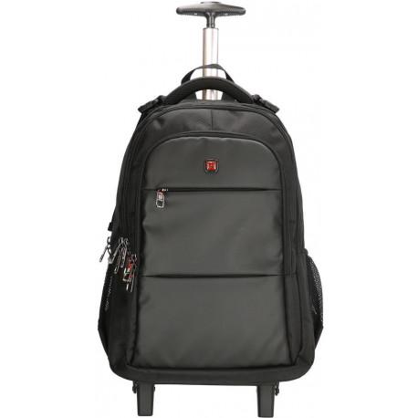 Рюкзак на колесах Enrico Benetti DOWNTOWN/Black Eb62064 001