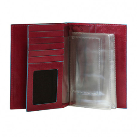 Обложка для автодокументов Piquadro BL SQUARE/Red AS429B2_R