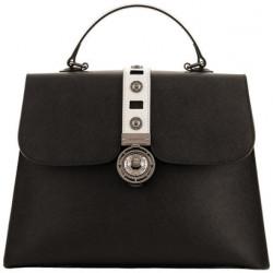 Женская сумка Cromia GLORIA/Nero-Silver Cm1403917_NSI