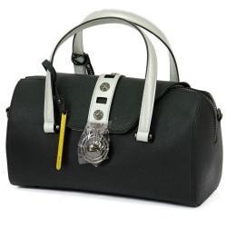 Женская сумка Cromia GLORIA/Nero-Silver Cm1403918_NSI