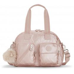 Женская сумка Kipling DEFEA UP/Metallic Blush KI2501_49B