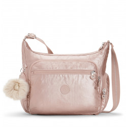 Женская сумка Kipling GABBIE/Metallic Blush K22621_49B