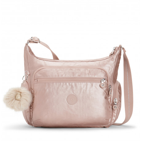 48f1c2f9e729 Женская сумка Kipling GABBIE/Metallic Blush K22621_49B
