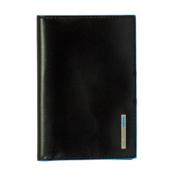 Обложка для паспорта Piquadro BL SQUARE/Black (13,5x9,5)