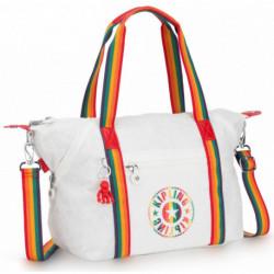 Женская сумка Kipling ART NC/Rainbow White KI2521_28Q