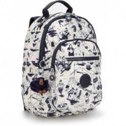 Рюкзак для ноутбука Kipling CLAS SEOUL S/Colab Print  KI2641_17E