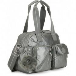 Женская сумка Kipling DEFEA UP/Metallic Stony KI2501_19U