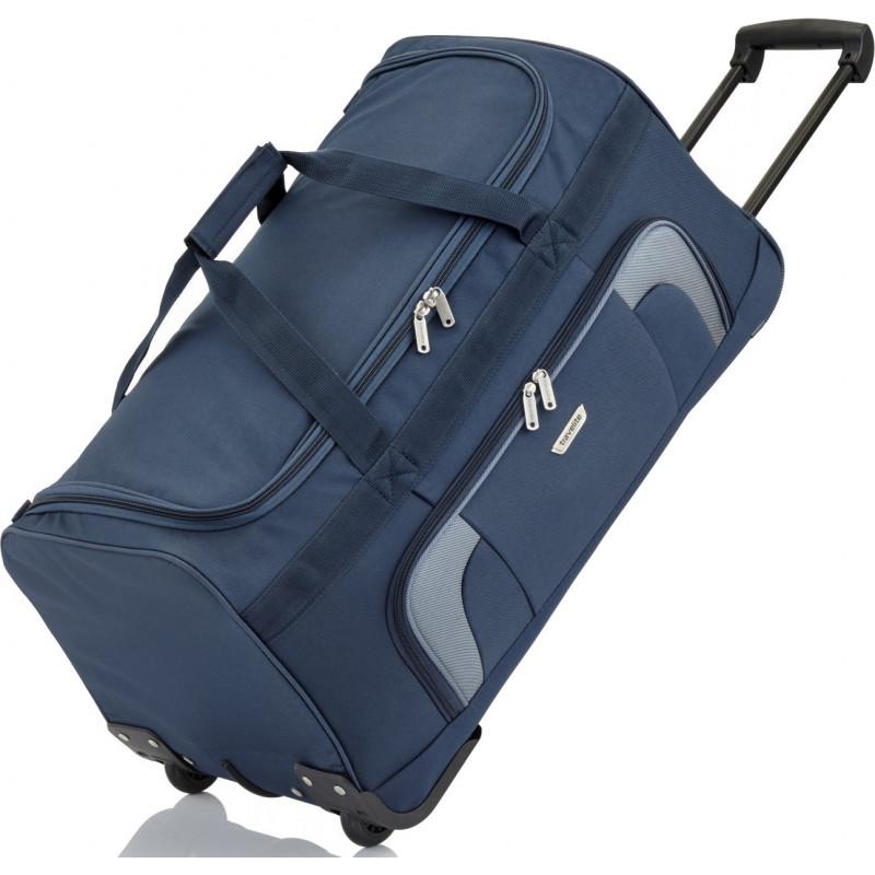 f698b4af0a1c Дорожная сумка на колесах Travelite ORLANDO/Navy L Большая TL098481-20