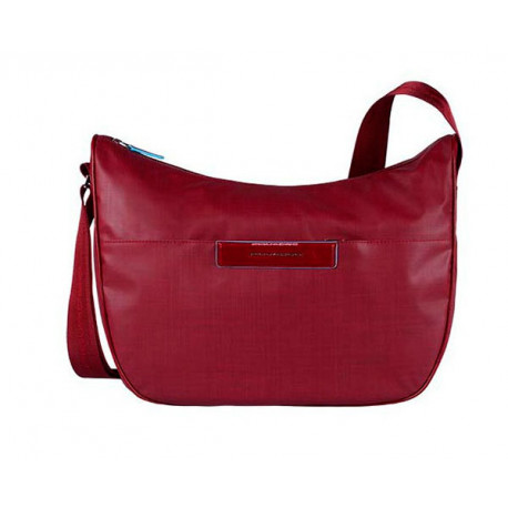 f3a040148470b Сумка женская Piquadro AKI/Red наплечная бол. с чехлом д/iPad/iPad ...