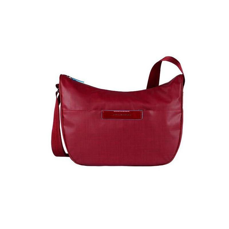 94b599c661a45 Сумка женская Piquadro AKI/Red наплечная бол. с чехлом д/iPad/iPad. Loading  zoom