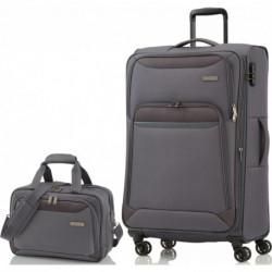 Чемодан Travelite KENDO/Grey L Большой TL090341-04