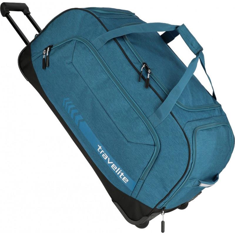 3859e37c242f Дорожная сумка на колесах Travelite KICK OFF 69/Petrol TL006911-22