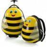 Набор Чемодан на 2 колесах + Рюкзак Heys TRAVEL TOTS/Bumble Bee He13030-3086-00